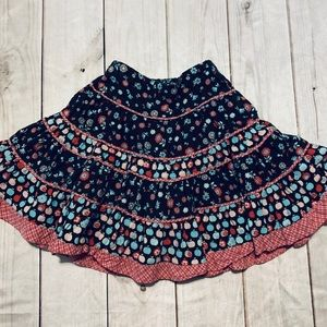 Adorable Floral Twirl Skirt